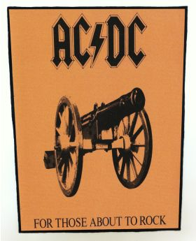 AC/DC - For Those About to Rock backpatch (standard size)