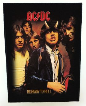 AC/DC - Highway to Hell backpatch (standard size)