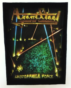 Agent Steel - Unstoppable Force backpatch (standard size)