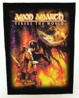 Amon Amarth - Versus the World backpatch (standard size)