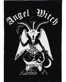 Angel Witch - s/t backpatch (21x30 cm)
