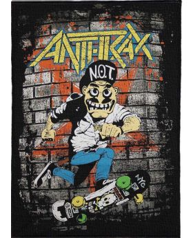 Anthrax - Not backpatch (21x30 cm)