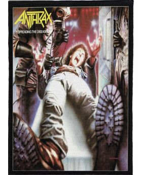 Anthrax - Spreading the Disease backpatch (21x30 cm)