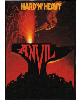 Anvil - Hard 'n' Heavy backpatch (21x30 cm)