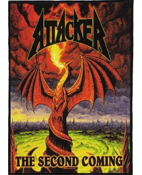 Attacker - The Second Coming backpatch (21x30 cm)