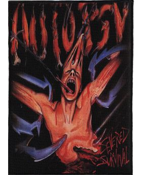 Autopsy - Severed Survival backpatch (21x30 cm)
