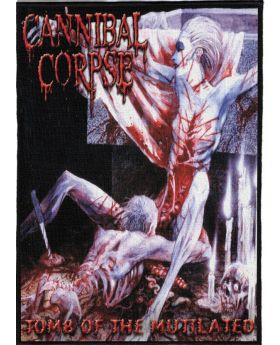 Cannibal Corpse - Tomb of the Mutilated backpatch (21x30 cm)