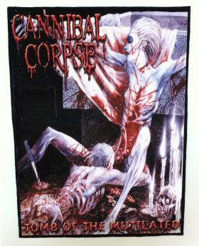 Cannibal Corpse - Tomb of the Mutilated backpatch (standard size)