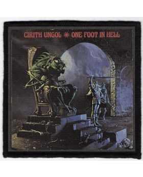 Cirith Ungol - One Foot in Hell patch