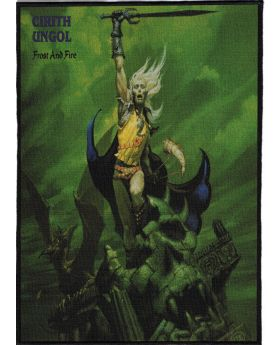 Cirith Ungol - Frost and Fire backpatch (21x30 cm)