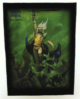 Cirith Ungol - Frost and Fire backpatch (standard size)