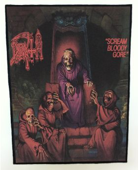 Death - Scream Bloody Gore backpatch (standard size)