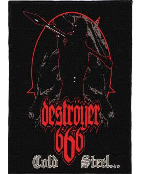 Destroyer 666 - Cold Steel backpatch (21x30 cm)