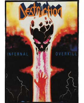 Destruction - Infernal Overkill backpatch (21x30 cm)