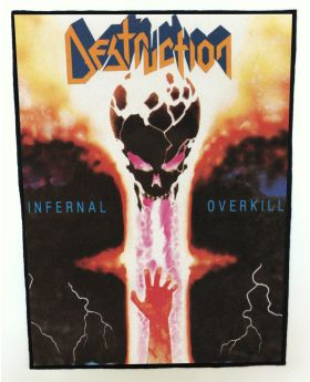 Destruction - Infernal Overkill backpatch (standard size)