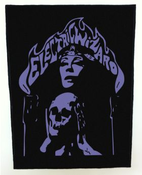 Electric Wizard - Logo backpatch (standard size)