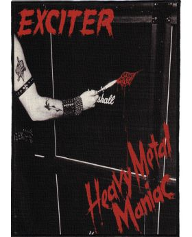 Exciter - Heavy Metal Maniac backpatch (21x30 cm)