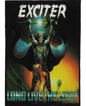 Exciter - Long Live the Loud backpatch (21x30 cm)