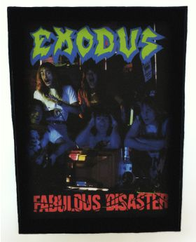 Exodus - Fabulous Disaster backpatch (standard size)