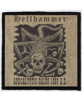 Hellhammer - Apocalyptic Raids 1990 A.D. patch