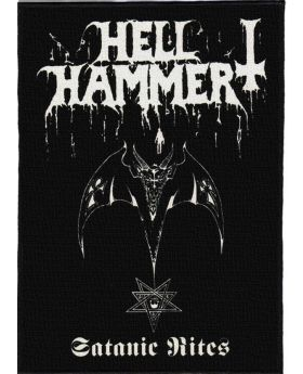 Hellhammer - Satanic Rites backpatch (21x30 cm)