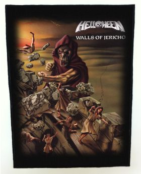 Helloween - Walls of Jericho backpatch (standard size)