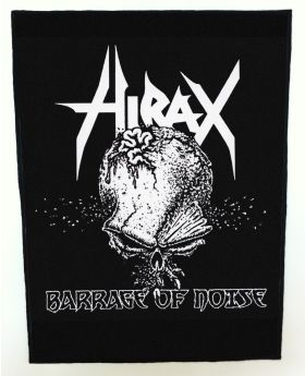 Hirax - Barrage of Noise backpatch (standard size)