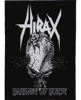 Hirax - Barrage of Noise backpatch (21x30 cm)