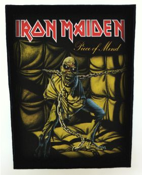 Iron Maiden - Piece of Mind backpatch (standard size)
