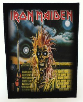 Iron Maiden - s/t backpatch (standard size)