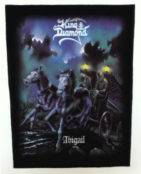 King Diamond - Abigail backpatch (standard size)
