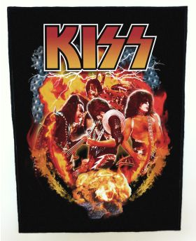 Kiss backpatch (standard size)