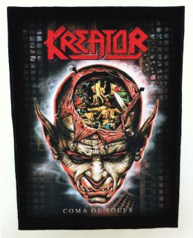Kreator - Coma of Souls backpatch (standard size)