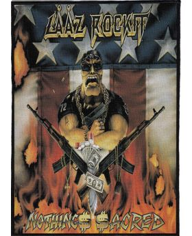 Laaz Rockit - Nothing$ $acred backpatch (21x30 cm)