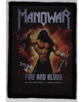 Manowar - Fire and Blood patch