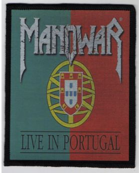 Manowar - Live in Portugal patch