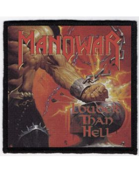 Manowar - Louder Than Hell patch