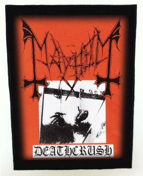 Mayhem - Deathcrush backpatch (standard size)
