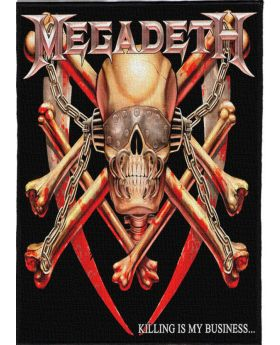 Megadeth - Killing is my Business backpatch (21x30 cm)