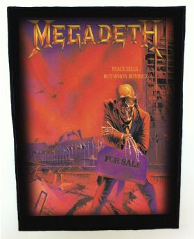 Megadeth - Peace Sells But Who's Buying backpatch (standard size)