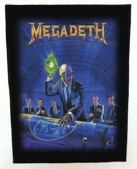 Megadeth - Rust in Peace backpatch (standard size)