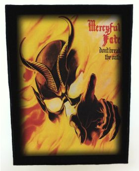 Mercyful Fate - Don't Break the Oath backpatch (standard size)