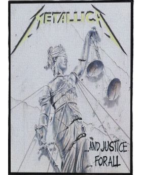 Metallica - And Justice for All backpatch (21x30 cm)