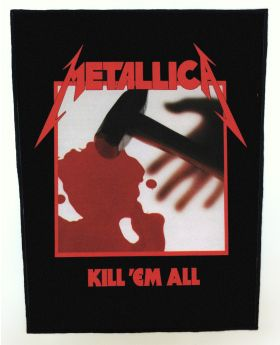 Metallica - Kill 'Em All backpatch (standard size)