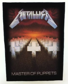 Metallica - Master of Puppets backpatch (standard size)