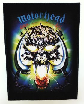 Motorhead - Overkill backpatch (standard size)