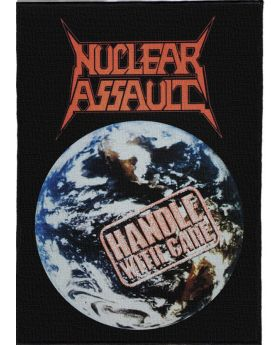 Nuclear Assault - Handle with Care backpatch (21x30 cm)