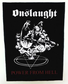 Onslaught - Power from Hell backpatch (standard size)