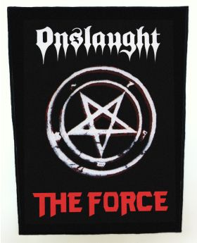 Onslaught - The Force  backpatch (standard size)