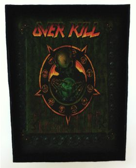 Overkill - Horrorscope backpatch (standard size)